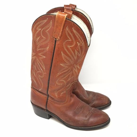 625718b880d Men's VINTAGE Acme 4668 Western Boots Size 9D